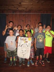 South Dakota Camp Flag winners 2015