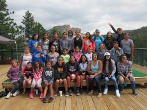2017 South Dakota summer camp